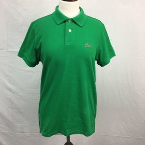 Lacoste Green SS Polo Shirt